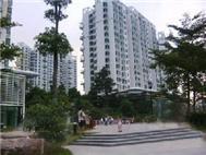 华联城市山林花园一期实景图