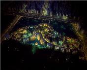 深业紫麟山花园效果图