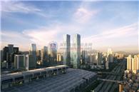 皇岗商务中心实景图