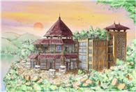 三门岛岛主别墅实景图