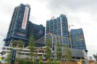 麟恒中心广场一期项目现场