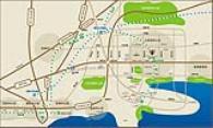 德洲中心城位置配套