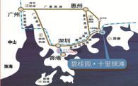碧桂园十里银滩位置图