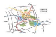 民盈山·国贸中心位置图