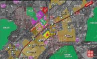 金地龙城中央具体位于龙岗大道与龙城大道交汇处。这里是龙岗中心城目前发展最成熟、大型公共配套最集中的区域: