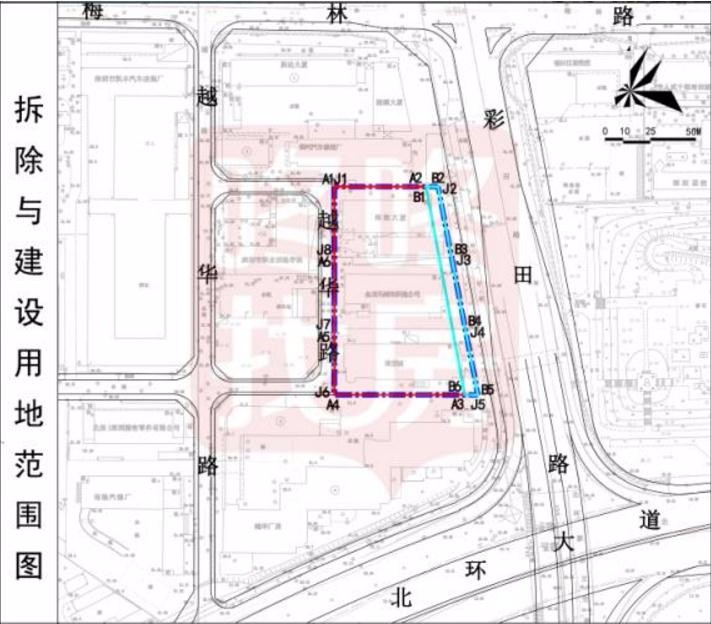 金龙工业大楼片区城市更新单元