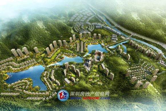 碧桂园湖光山色