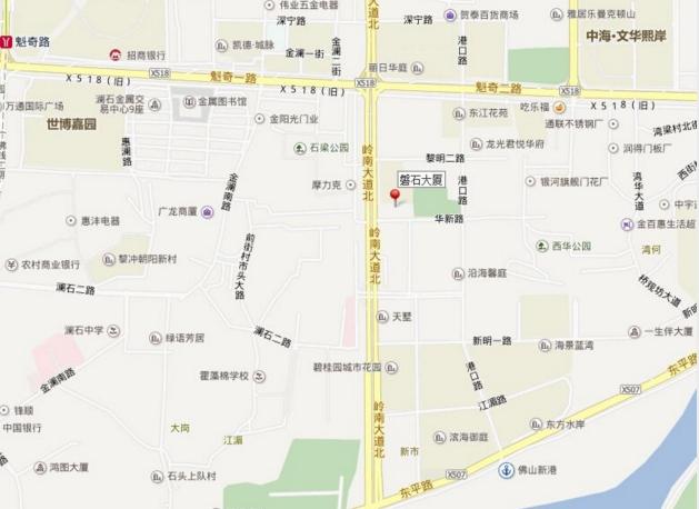 磐石市区地图高清版