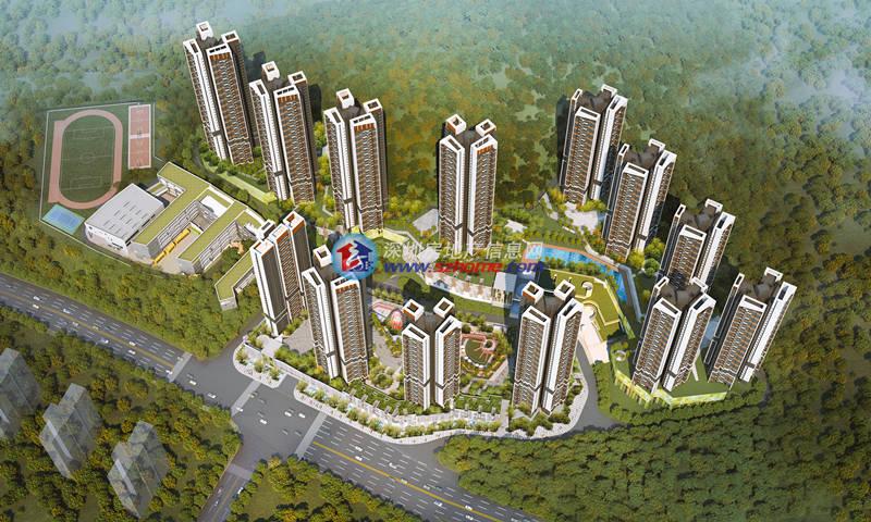 里城玺樾山-中航华府花园-深圳房地产信息网
