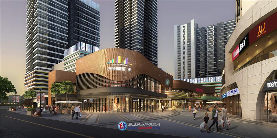 大型综合体临街餐饮铺